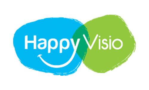 Silver Innov' | Pépinière d'entreprises dédiée à la Silver Économie | Logo Happy Visio