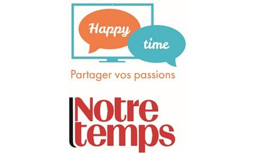 Silver Innov'   Pépinière d'entreprises dédiée à la Silver Économie   Logo Happy Time
