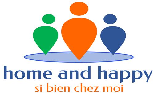 Silver Innov' | Pépinière d'entreprises dédiée à la Silver Économie | Logo Home and Happy