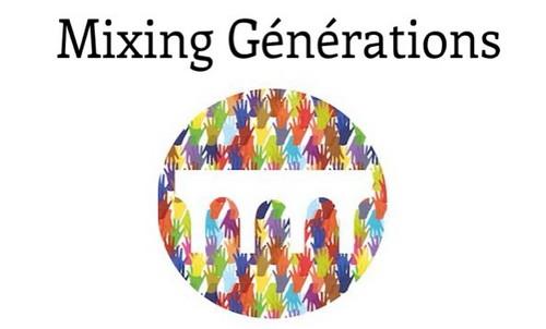 Silver Innov'   Pépinière d'entreprises dédiée à la Silver Économie   Logo Mixing Générations