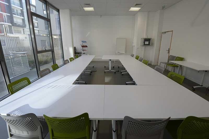 Silver Innov' | Pépinière d'entreprises dédiée à la Silver Économie | Salle de réunion