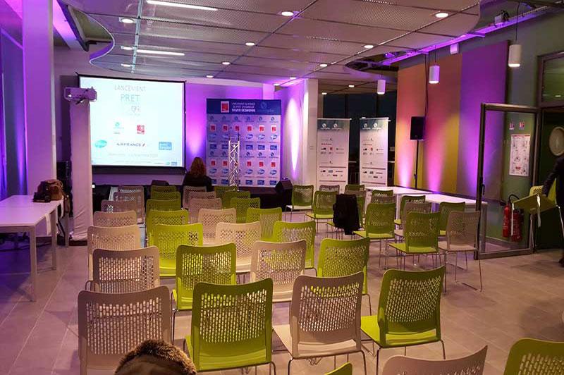Silver Innov' | Pépinière d'entreprises dédiée à la Silver Économie | Salle Conférence