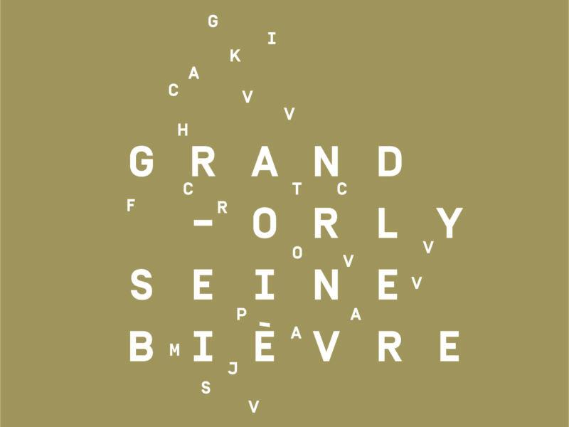 Silver Innov' | Pépinière d'entreprises dédiée à la Silver Économie | Logo Marron Grand Orly Seine Bièvre