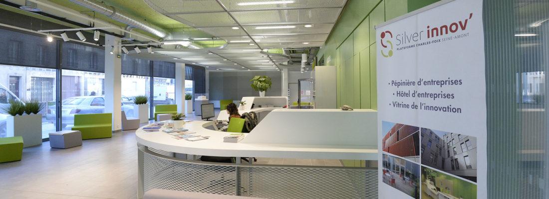 Silver Innov' | Pépinière d'entreprises dédiée à la Silver Économie | Hall